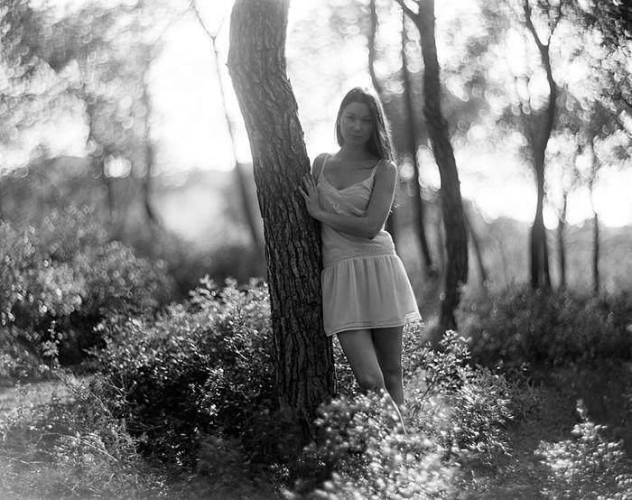 Orinta Romanovskaja sesión fotográfica en film Cap Salou Tarragona Contax 645_ 01